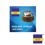 100%-Brass-Wire-Cup-Brush(Non-Spark)
