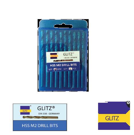 GLITZ-HSS-M2-DRILL-BITS-METAL-MM