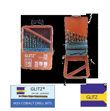 Glitz-M35-Cobalt-Drill-Bits-Set-19pcs-(mm)